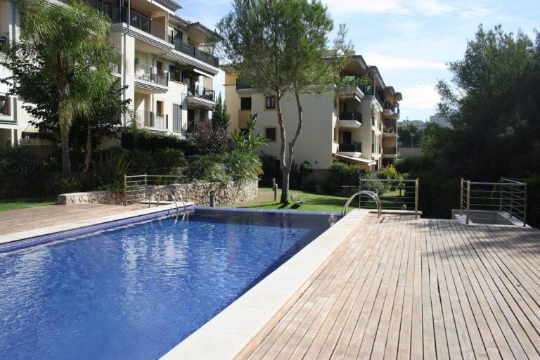 Rediseño de jardin, instalacion de riego y cesped artificial en Palma 5